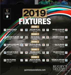 6 Nations Rugby Live at The Mulberry Inn